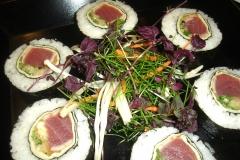 Teriyaki Tuna Sushi