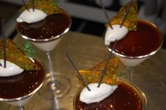 Vanilla Panna Cotta with Coffee Jelly